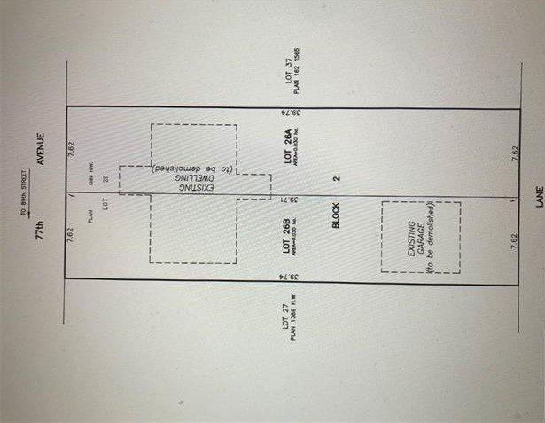 Main Photo: 8733 77 Avenue in Edmonton: Zone 17 Vacant Lot for sale : MLS®# E4170746