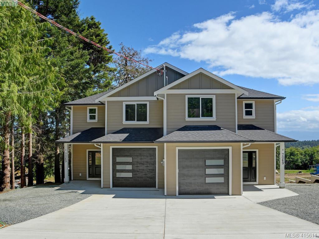 Main Photo: A 7071 W Grant Road in SOOKE: Sk John Muir Half Duplex for sale (Sooke)  : MLS®# 415611
