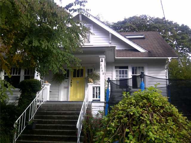Main Photo: 3389 W 42ND Avenue in Vancouver: Southlands House for sale (Vancouver West)  : MLS®# V912302