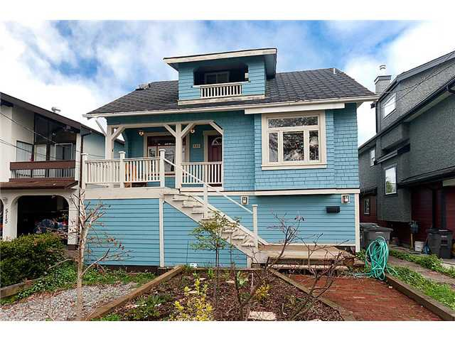 Main Photo: 523 E 21st Avenue in Vancouver: Fraser VE House for sale (Vancouver East)  : MLS®# V882477