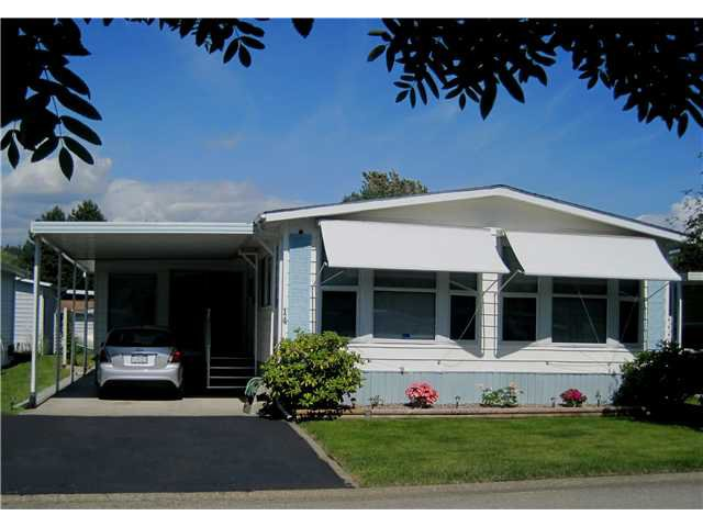 """Main Photo: 14 145 KING EDWARD Street in Coquitlam: Maillardville Manufactured Home for sale in """"MILLCREEK VILLAGE"""" : MLS®# V1069250"""