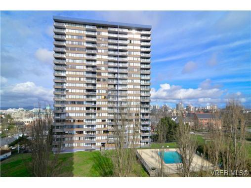 Main Photo: 709 647 Michigan Street in VICTORIA: Vi James Bay Condo Apartment for sale (Victoria)  : MLS®# 345971