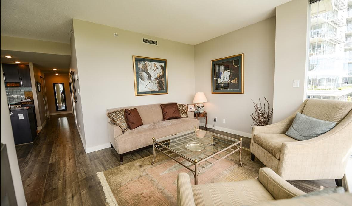 """Photo 4: Photos: 807 633 KINGHORNE Mews in Vancouver: Yaletown Condo for sale in """"Icon II"""" (Vancouver West)  : MLS®# R2083458"""