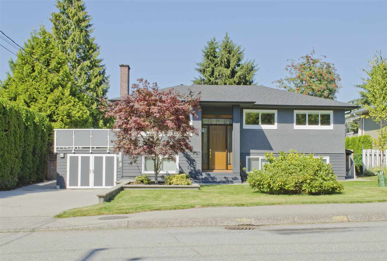Main Photo: 1851 REGAN Avenue in Coquitlam: Central Coquitlam House for sale : MLS®# R2100933