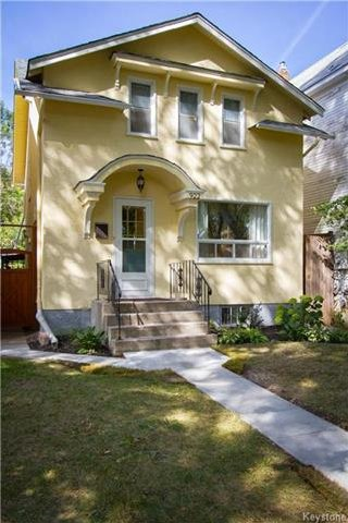 Main Photo: 922 Sherburn Street in Winnipeg: West End Residential for sale (5C)  : MLS®# 1724078
