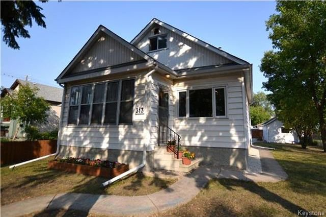 Main Photo: 313 Hampton Street in Winnipeg: St James Residential for sale (5E)  : MLS®# 1724191