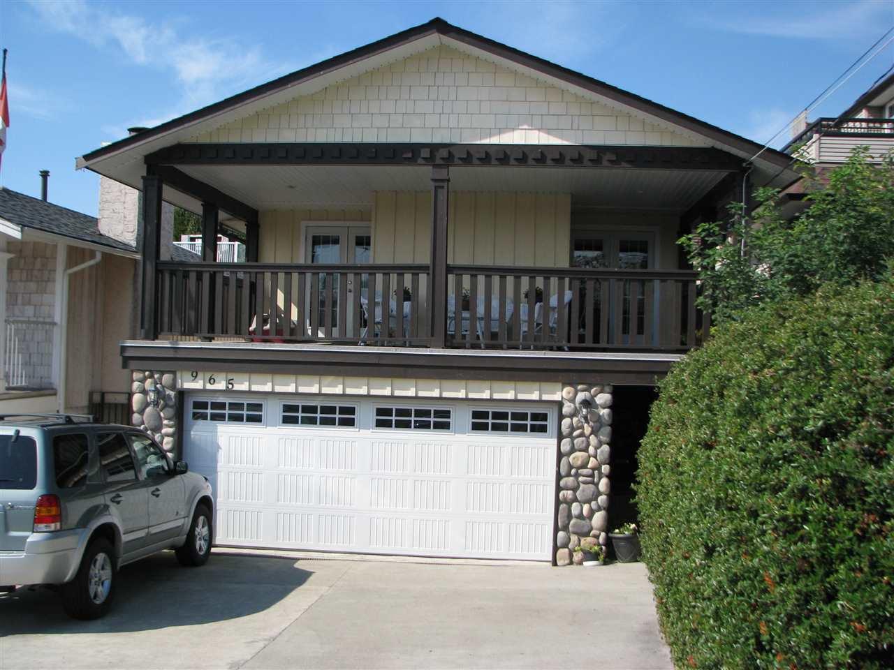 Main Photo: 965 KEIL Street: White Rock House for sale (South Surrey White Rock)  : MLS®# R2206346