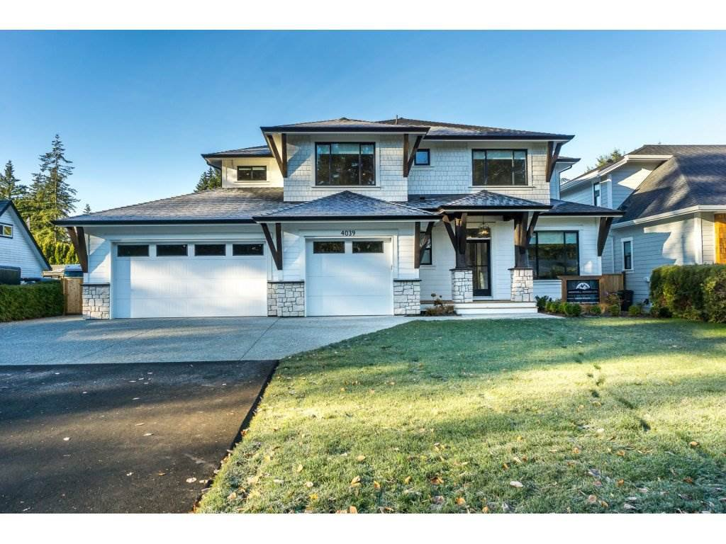 Main Photo: 4039 205A Street in Langley: Brookswood Langley House for sale : MLS®# R2305956