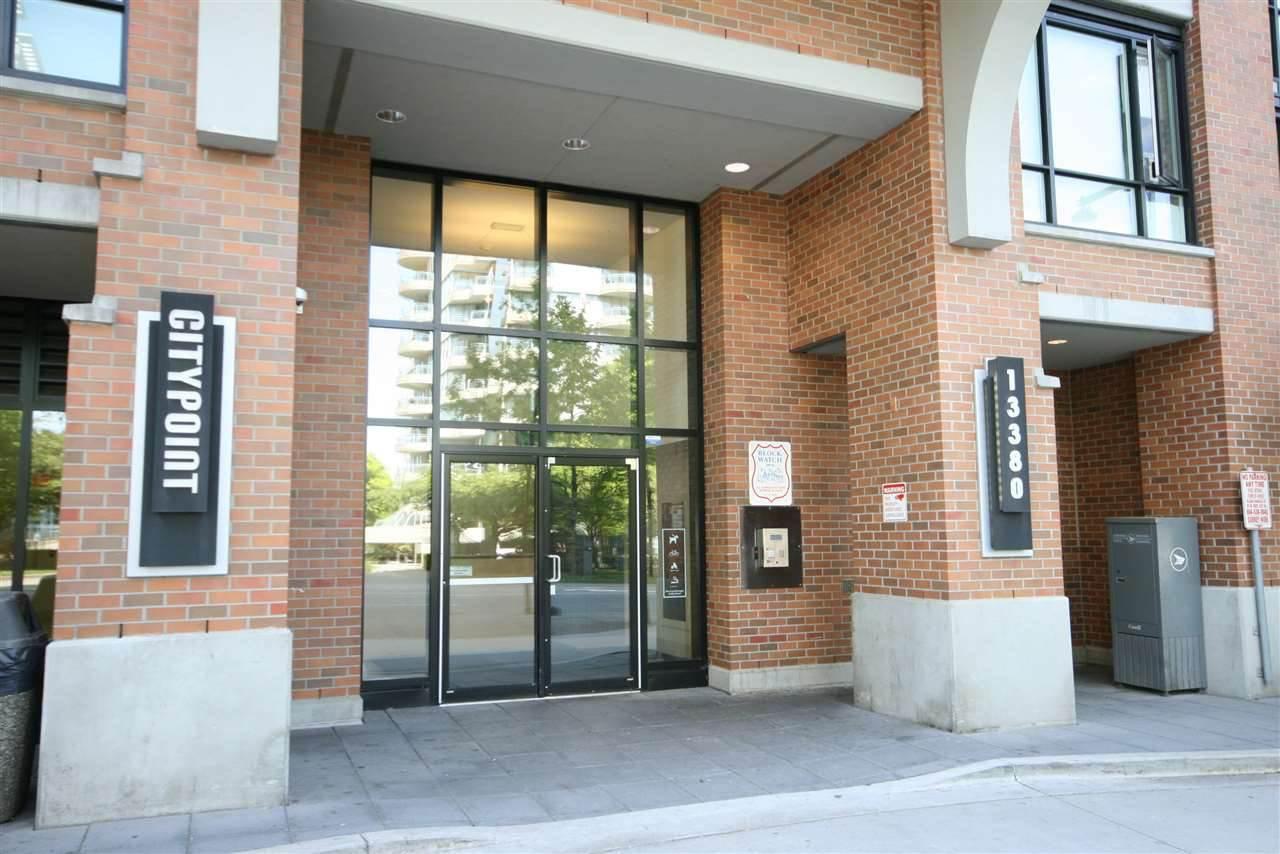"""Main Photo: 203 13380 108 Avenue in Surrey: Whalley Condo for sale in """"CityPointe"""" (North Surrey)  : MLS®# R2310712"""