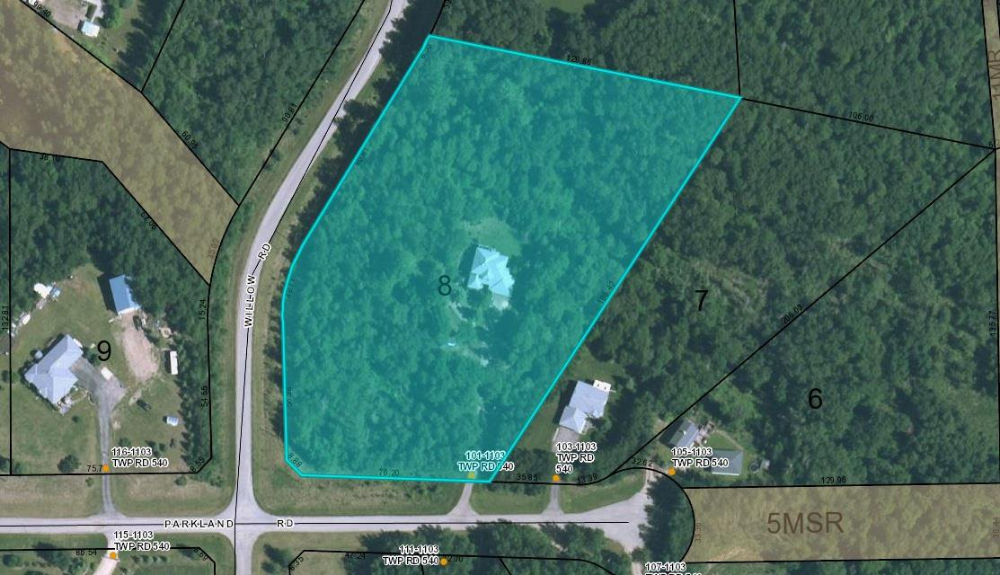 Main Photo: 101 1103 TWP RD 540: Rural Parkland County House for sale : MLS®# E4183768
