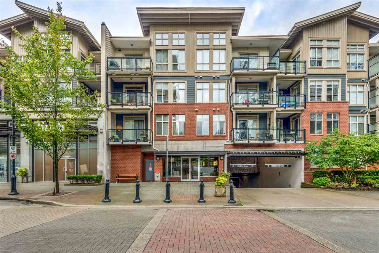 """Main Photo: 412 101 MORRISSEY Road in Port Moody: Port Moody Centre Condo for sale in """"Libra at Suter Brook"""" : MLS®# R2472605"""