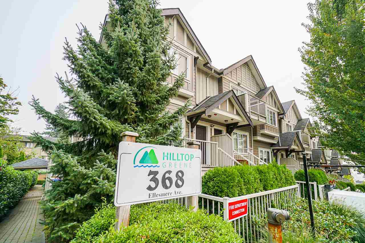 "Main Photo: 109 368 ELLESMERE Avenue in Burnaby: Capitol Hill BN Townhouse for sale in ""HILLTOP GREENE"" (Burnaby North)  : MLS®# R2500245"