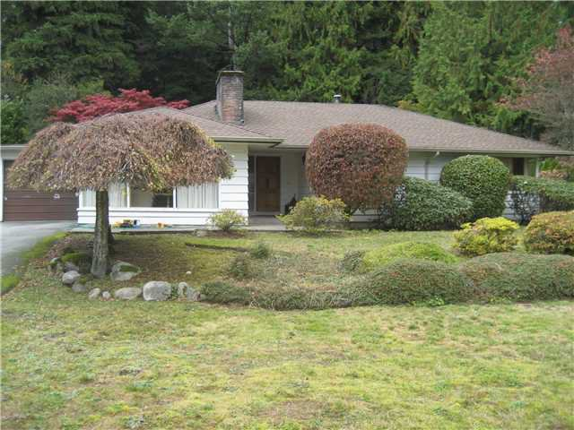 Main Photo: 367 W RABBIT Lane in West Vancouver: British Properties House for sale : MLS®# V918944