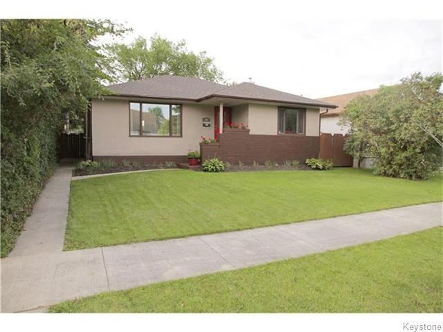 Main Photo: 101 Haig Avenue in WINNIPEG: St Vital Residential for sale (South East Winnipeg)  : MLS®# 1525095