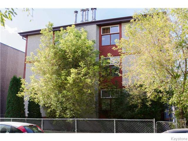 Main Photo: 134 Langside Street in WINNIPEG: West End / Wolseley Condominium for sale (West Winnipeg)  : MLS®# 1526036