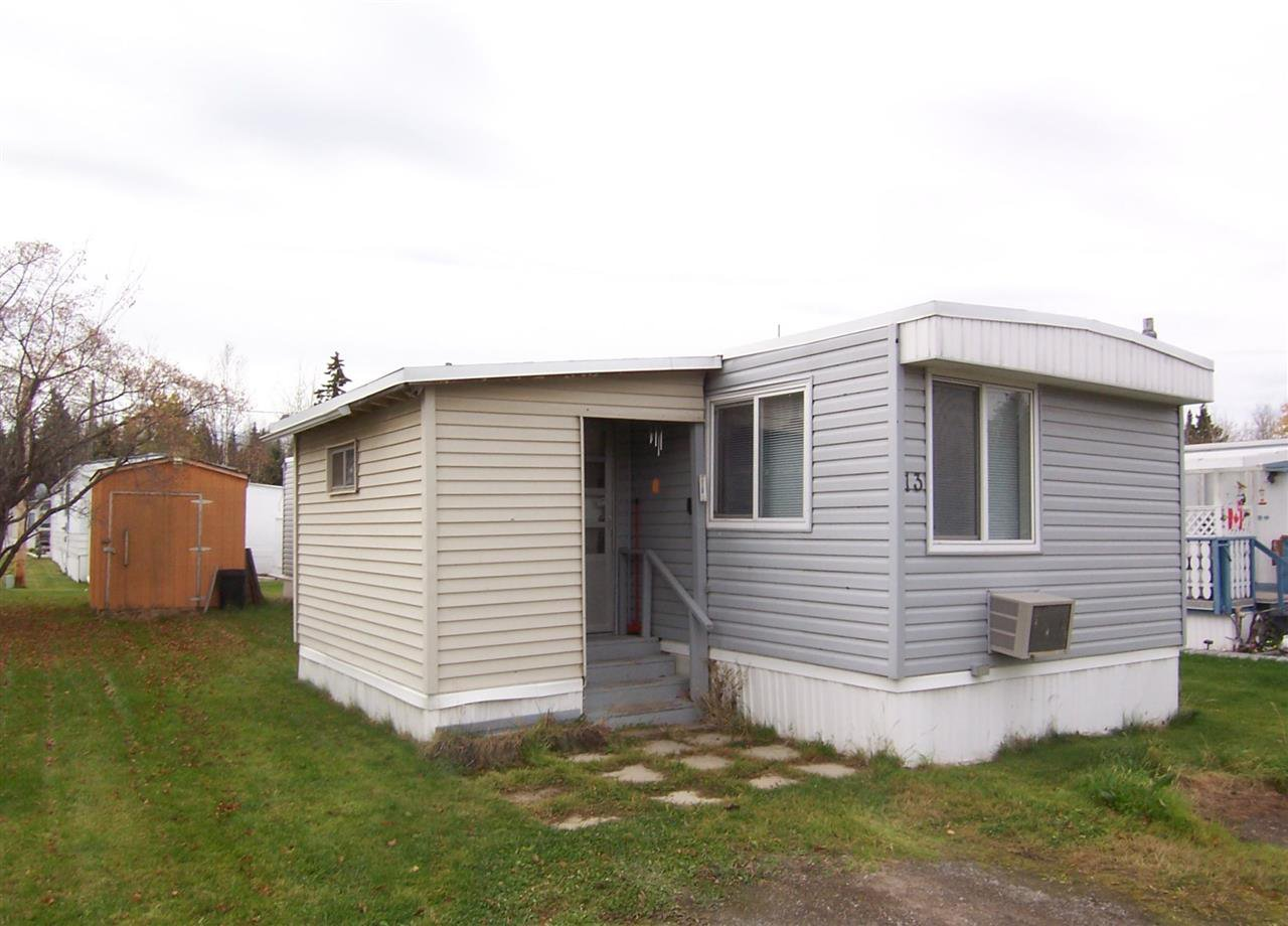 "Main Photo: 13 7817 S 97 Highway in PRINCE GRG: Sintich Manufactured Home for sale in ""SINTICH TRAILER PARK"" (PG City South East (Zone 75))  : MLS®# R2006861"