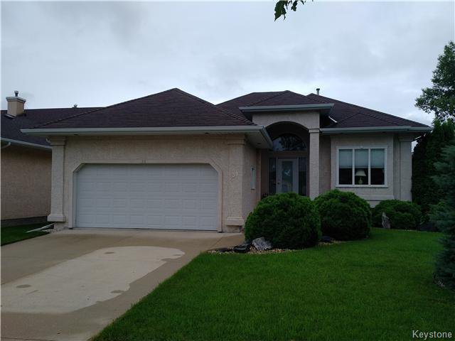 Main Photo: 38 Ragsdill Road in Winnipeg: Algonquin Estates Residential for sale (3H)  : MLS®# 1619300