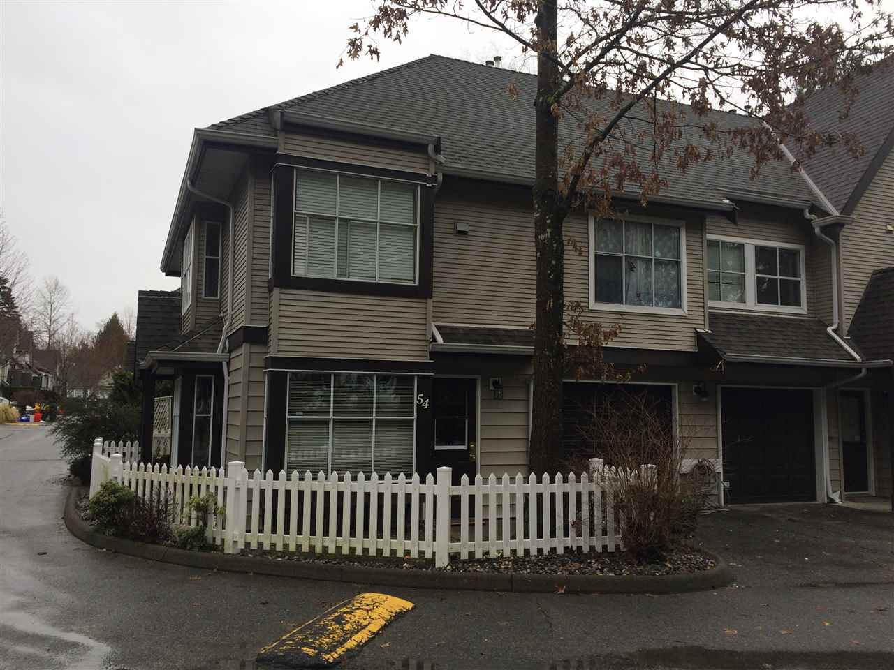 Main Photo: 54 12099 237 Street in Maple Ridge: East Central Townhouse for sale : MLS®# R2147089