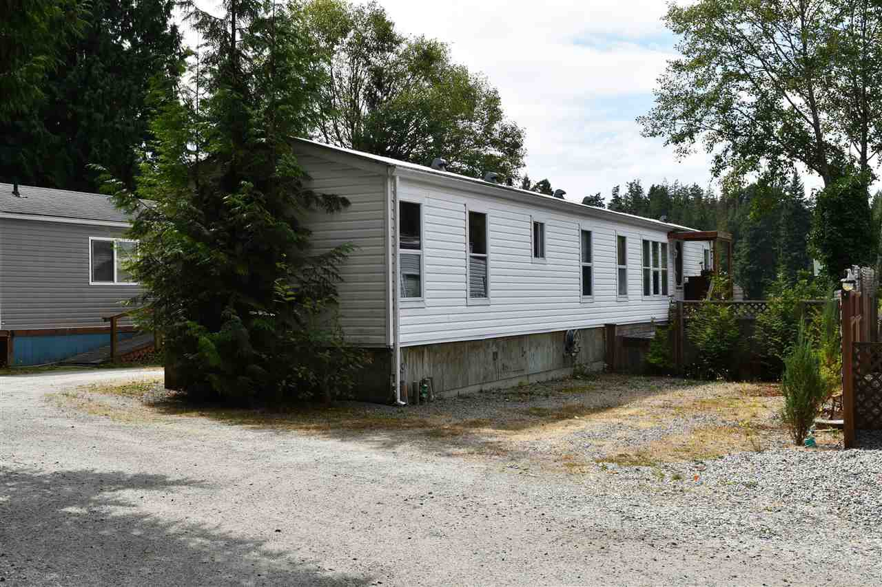 Main Photo: 13 12793 MADEIRA PARK Road in Madeira Park: Pender Harbour Egmont Manufactured Home for sale (Sunshine Coast)  : MLS®# R2198809