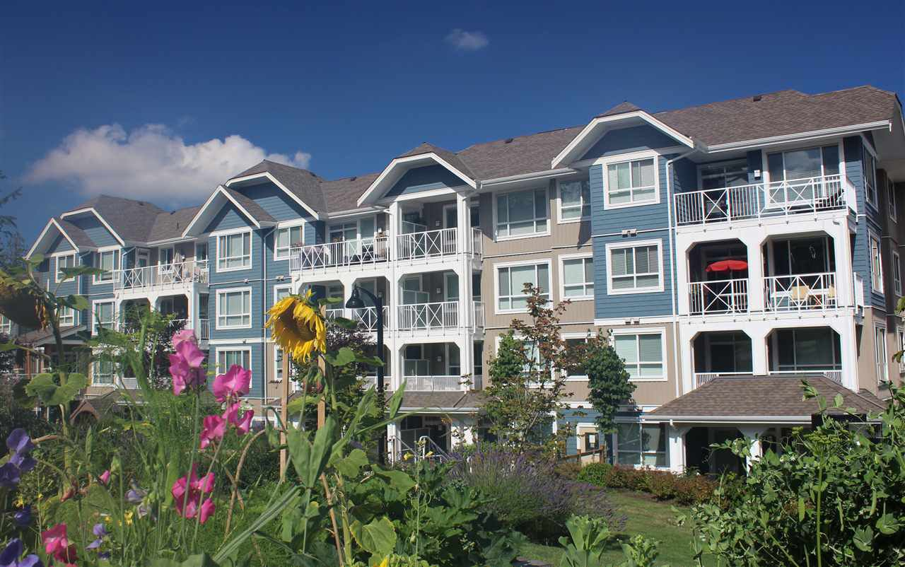 "Main Photo: 412 16398 64 Avenue in Surrey: Cloverdale BC Condo for sale in ""The Ridge at Bose Farms"" (Cloverdale)  : MLS®# R2289381"