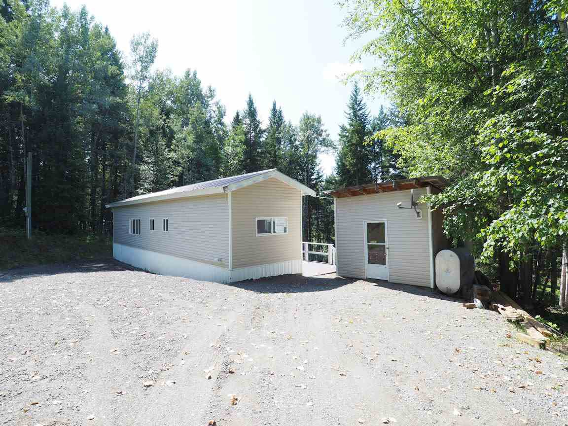 Main Photo: 7247 SUMMIT Drive in Canim Lake: Canim/Mahood Lake Manufactured Home for sale (100 Mile House (Zone 10))  : MLS®# R2395612