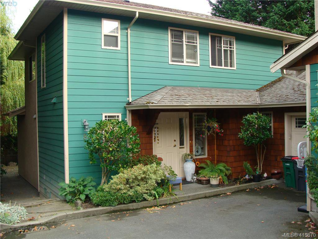 Main Photo: 8 1241 Santa Rosa Avenue in VICTORIA: SW Strawberry Vale Row/Townhouse for sale (Saanich West)  : MLS®# 415670