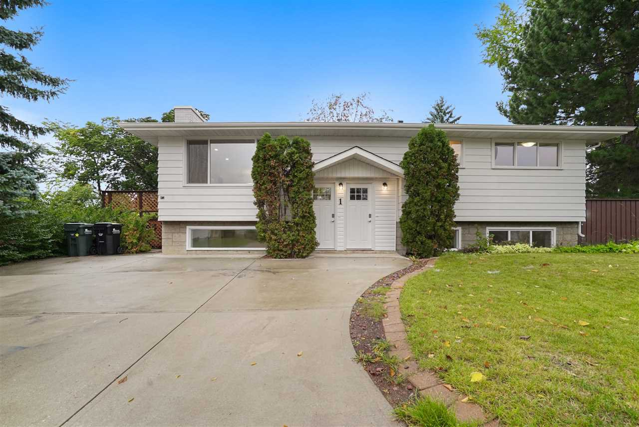 Main Photo: 1 MORELAND Road: Sherwood Park House for sale : MLS®# E4173281