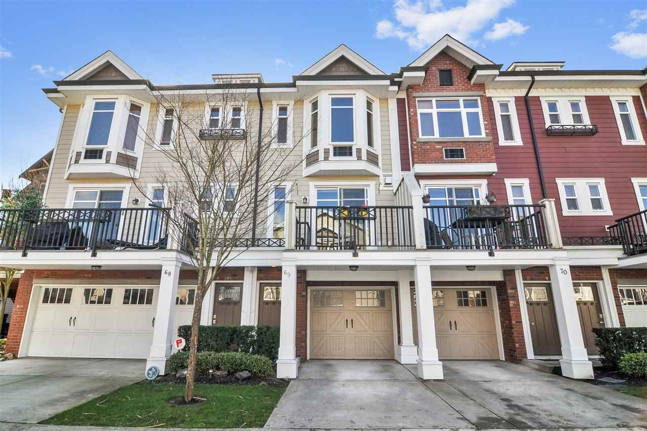 "Main Photo: 69 20738 84 Street in Langley: Willoughby Heights Townhouse for sale in ""Yorkson Creek"" : MLS®# R2443156"