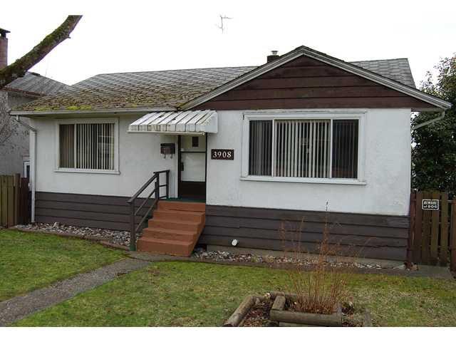 "Main Photo: 3908 PARKER Street in Burnaby: Willingdon Heights House for sale in ""WILLINGDON HEIGHTS"" (Burnaby North)  : MLS®# V876327"