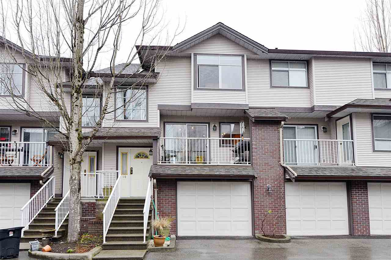 "Main Photo: 10 2450 LOBB Avenue in Port Coquitlam: Mary Hill Townhouse for sale in ""SOUTHSIDE ESTATES"" : MLS®# R2143368"