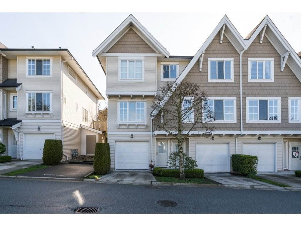 "Main Photo: 18 20560 66 Avenue in Langley: Willoughby Heights Townhouse for sale in ""Amberleigh"" : MLS®# R2155248"