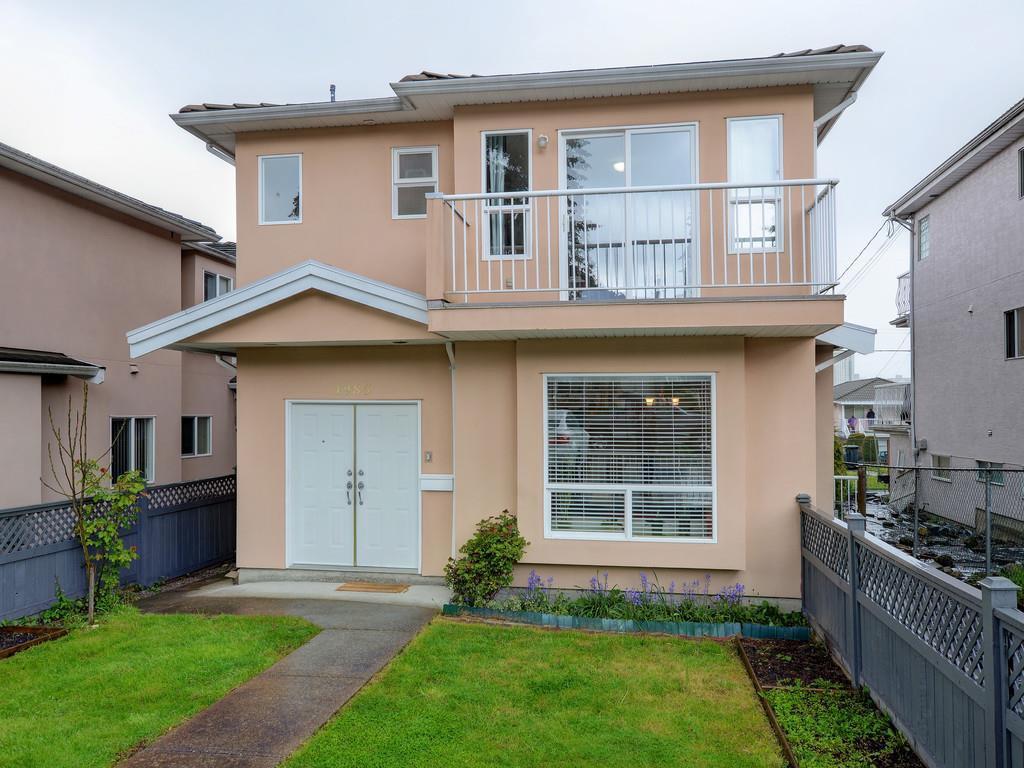 Main Photo: 4985 NORFOLK Street in Burnaby: Central BN 1/2 Duplex for sale (Burnaby North)  : MLS®# R2161970