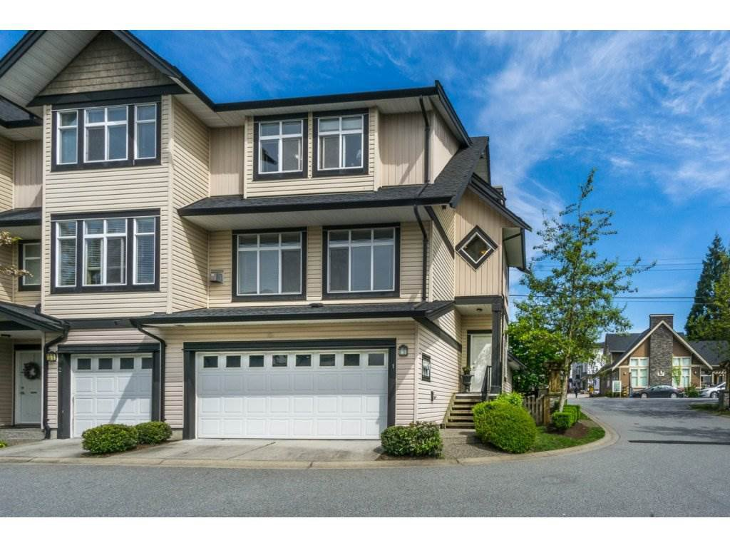 "Main Photo: 1 19932 70 Avenue in Langley: Willoughby Heights Townhouse for sale in ""SUMMERWOOD"" : MLS®# R2162359"