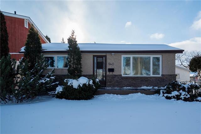 Main Photo: 540 Rosseau Avenue West in Winnipeg: West Transcona Residential for sale (3L)  : MLS®# 1901225