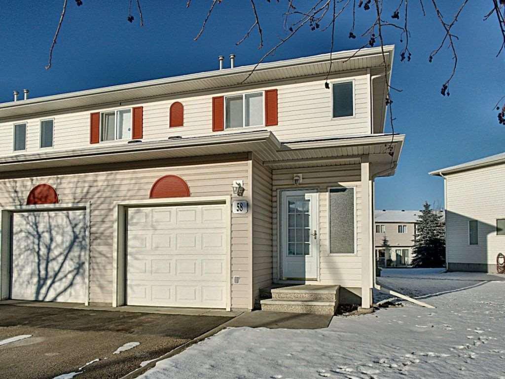 Main Photo: 58 451 Hyndman Crescent in Edmonton: Zone 35 Townhouse for sale : MLS®# E4181590
