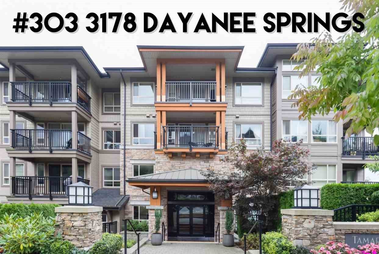 "Main Photo: 303 3178 DAYANEE SPRINGS Boulevard in Coquitlam: Westwood Plateau Condo for sale in ""Tamarak"" : MLS®# R2430179"