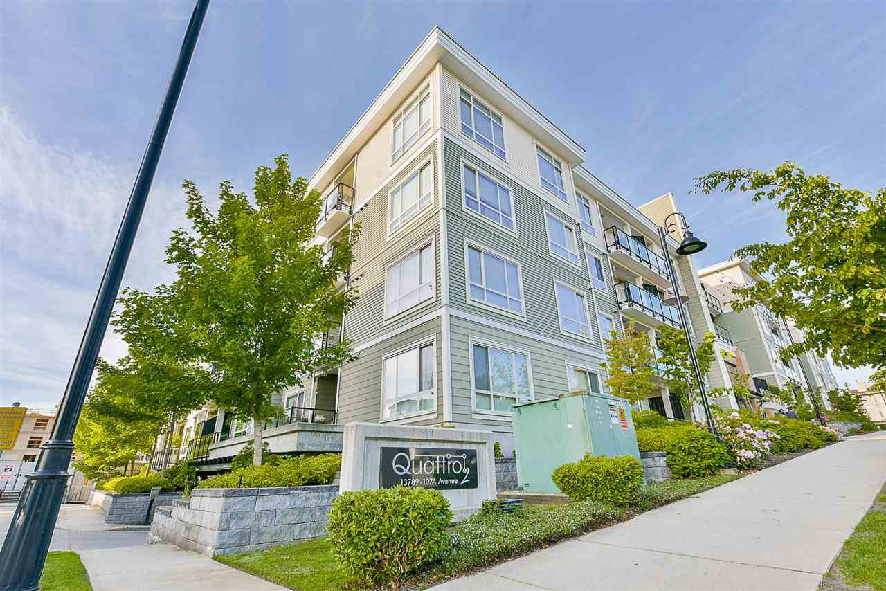 Main Photo: 517 13789 107A Avenue in Surrey: Whalley Condo for sale (North Surrey)  : MLS®# R2430241