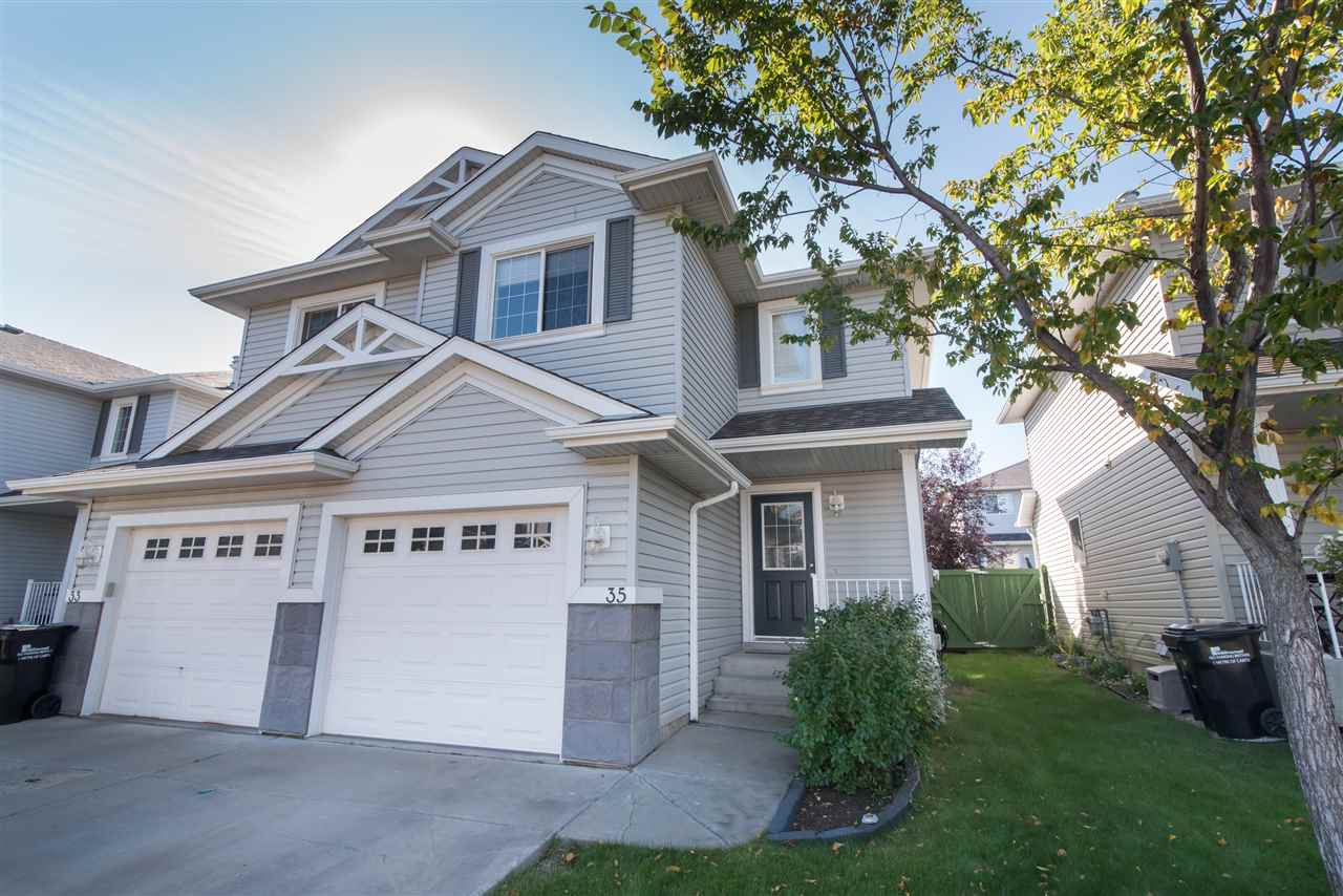 Main Photo: 35 115 CHESTERMERE Drive: Sherwood Park House Half Duplex for sale : MLS®# E4214080