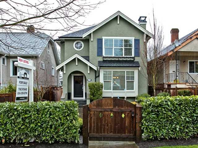 Main Photo: 2455 CAMBRIDGE Street in Vancouver: Hastings East House for sale (Vancouver East)  : MLS®# V881459