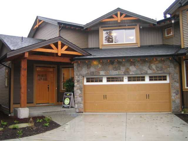 "Main Photo: 94 24185 106B Avenue in Maple Ridge: Albion Townhouse for sale in ""TRAILS EDGE"" : MLS®# V923155"