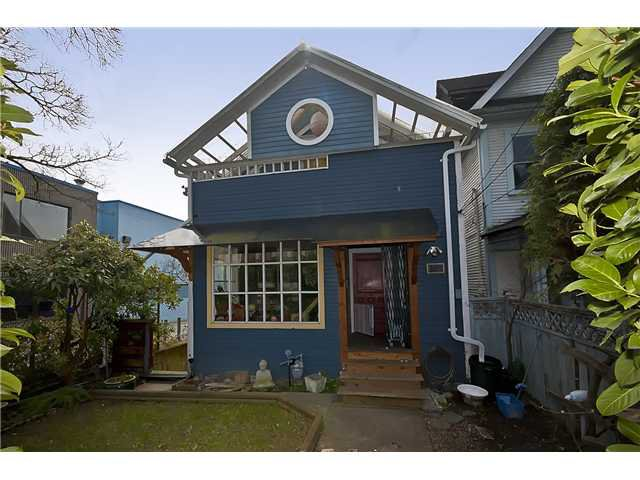 Main Photo: 1224 E Georgia Street in Vancouver: Mount Pleasant VE House for sale (Vancouver East)  : MLS®# V877881