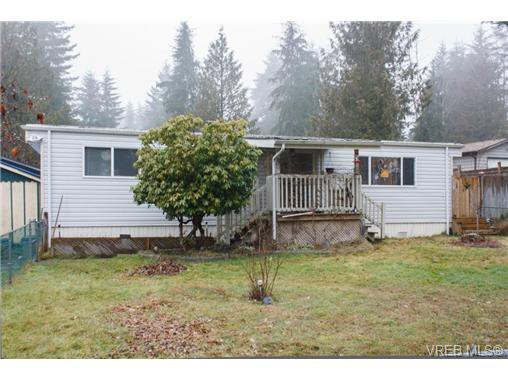 Main Photo: A20 920 Whittaker Rd in MALAHAT: ML Mill Bay Manufactured Home for sale (Malahat & Area)  : MLS®# 670824