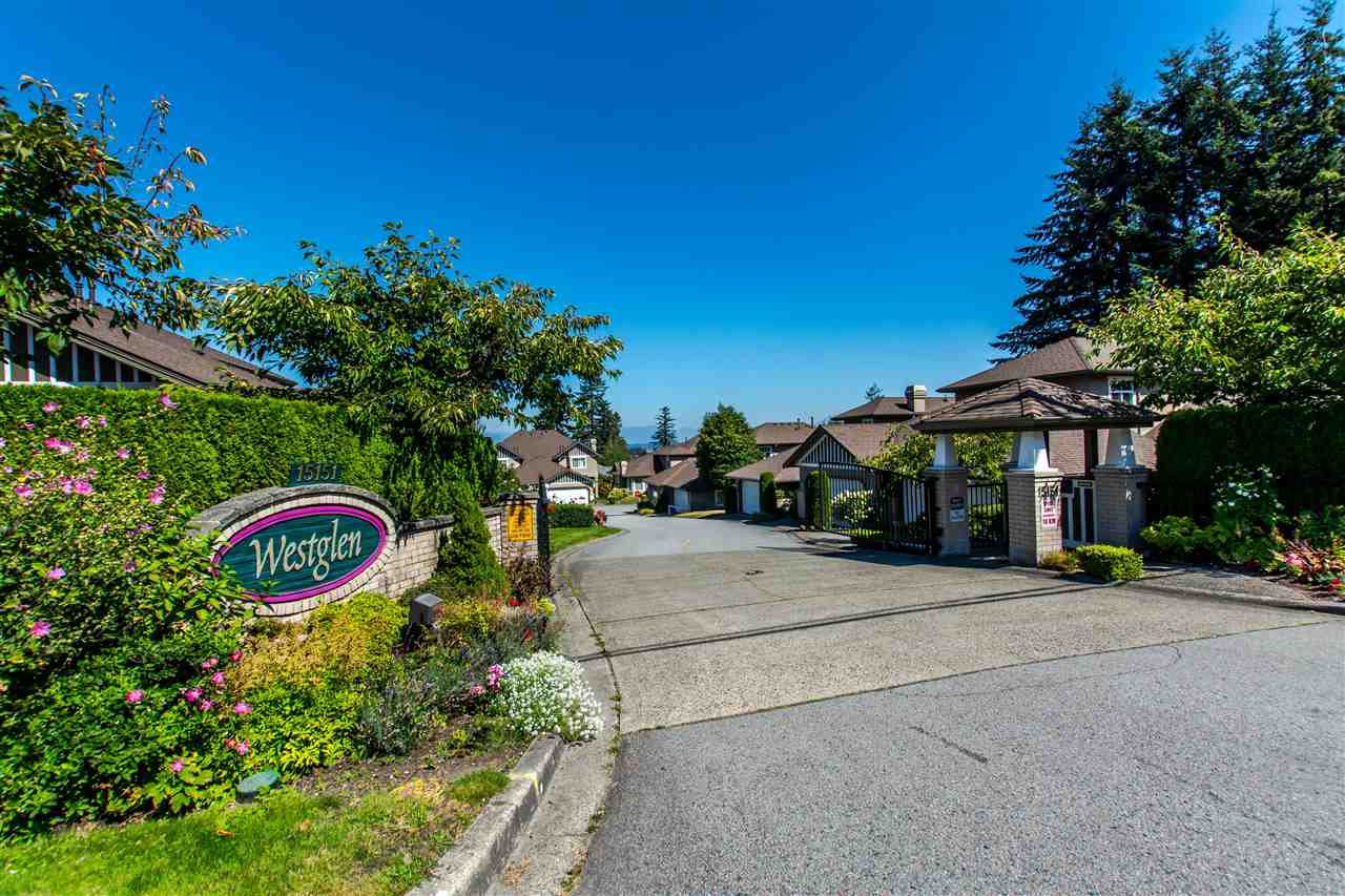 "Main Photo: 19 15151 26 Avenue in Surrey: Sunnyside Park Surrey Townhouse for sale in ""Westglen"" (South Surrey White Rock)  : MLS®# R2101497"