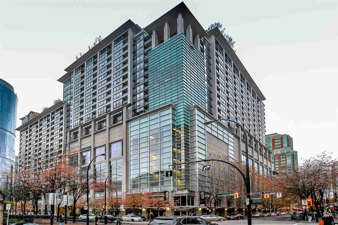 """Main Photo: 1230 933 HORNBY Street in Vancouver: Downtown VW Condo for sale in """"Electric Avenue"""" (Vancouver West)  : MLS®# R2120832"""