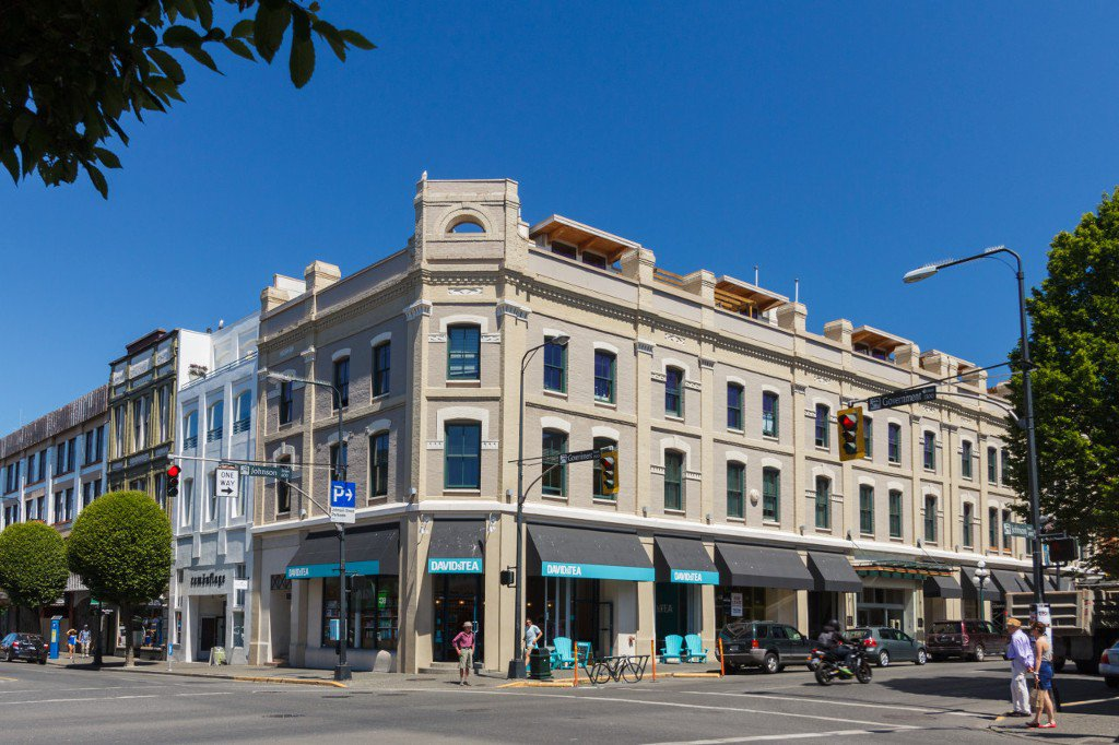 Main Photo: 404 610 Johnson Street in VICTORIA: Vi Downtown Condo Apartment for sale (Victoria)  : MLS®# 378836