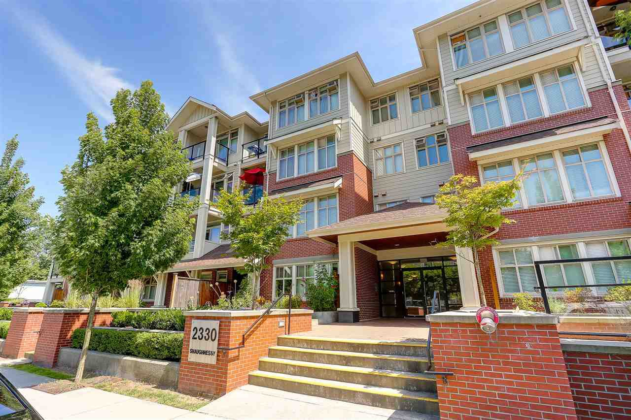 Main Photo: 403 2330 SHAUGHNESSY STREET in Port Coquitlam: Central Pt Coquitlam Condo for sale : MLS®# R2185275