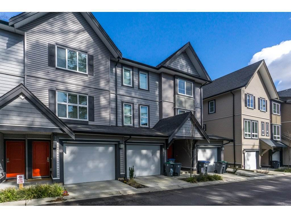 "Main Photo: 80 14555 68 Avenue in Surrey: East Newton Townhouse for sale in ""SYNC"" : MLS®# R2246335"