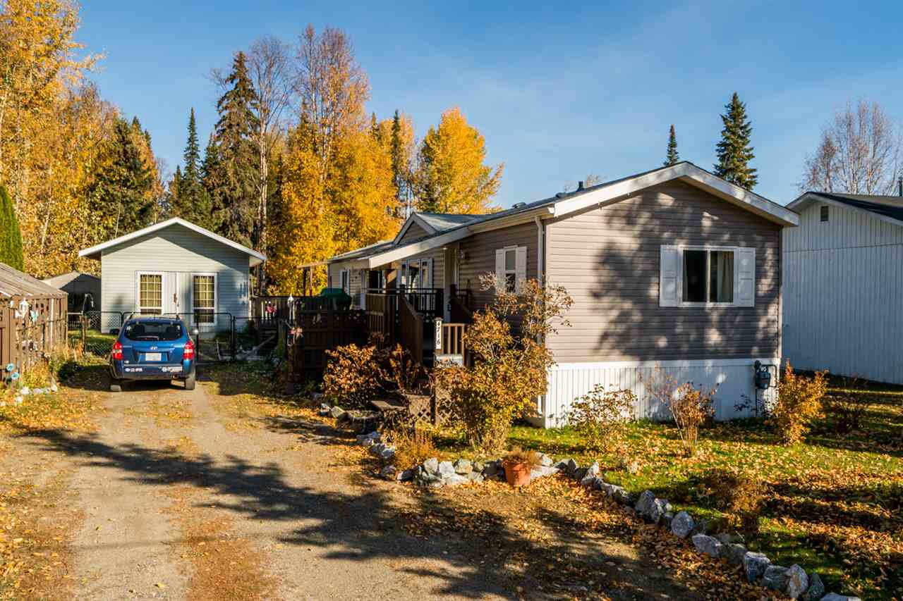 Main Photo: 4716 HANDLEN Road in Prince George: North Kelly Manufactured Home for sale (PG City North (Zone 73))  : MLS®# R2312723
