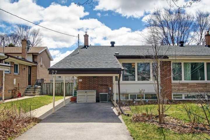 Main Photo: 77 Billington Crescent in Toronto: Parkwoods-Donalda House (Backsplit 3) for sale (Toronto C13)  : MLS®# C4412812
