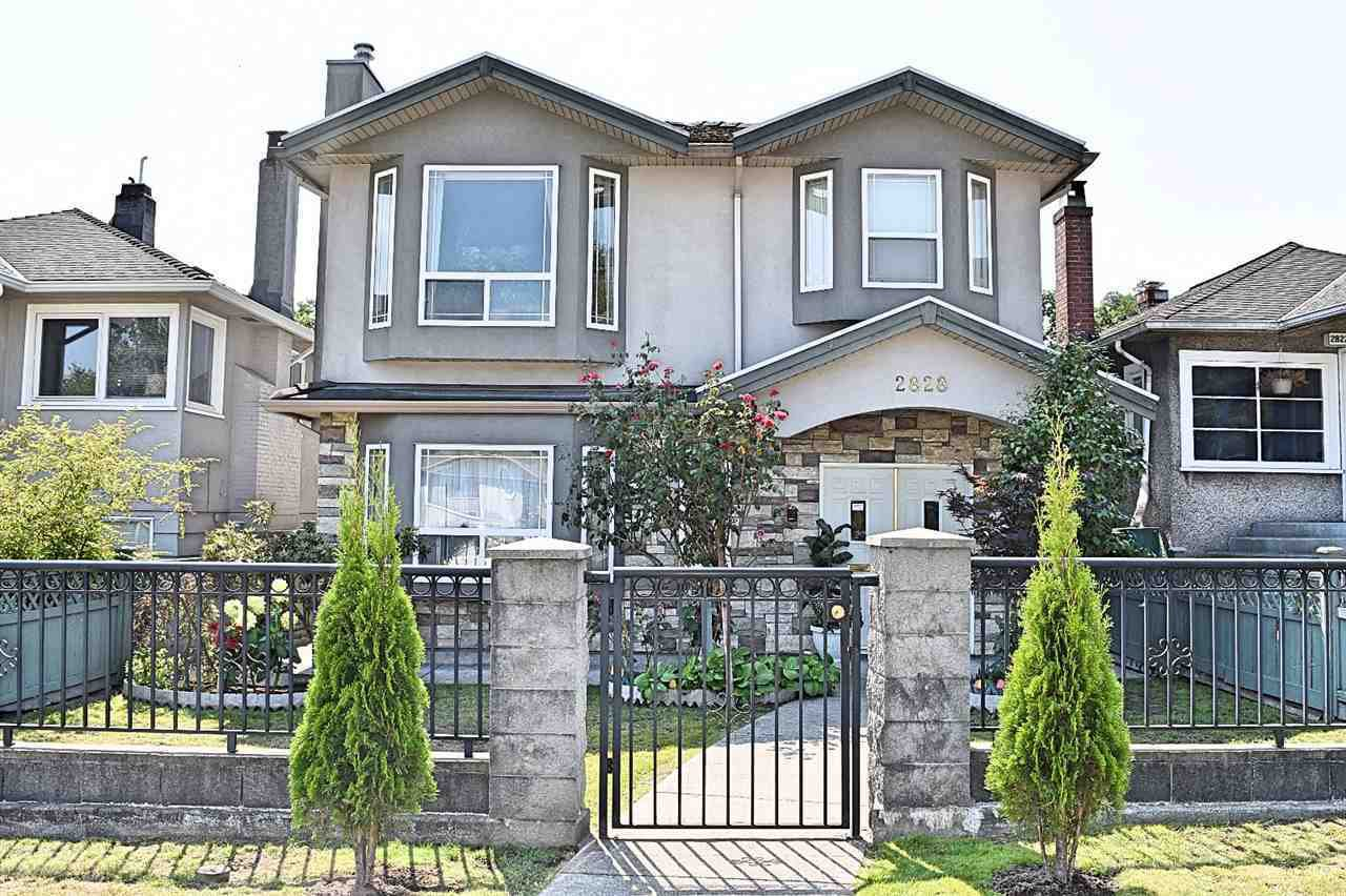 Main Photo: 2828 MCGILL Street in Vancouver: Hastings Sunrise House for sale (Vancouver East)  : MLS®# R2363261